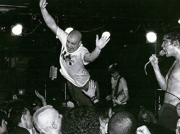 Black Flag at CBGBs, 1982