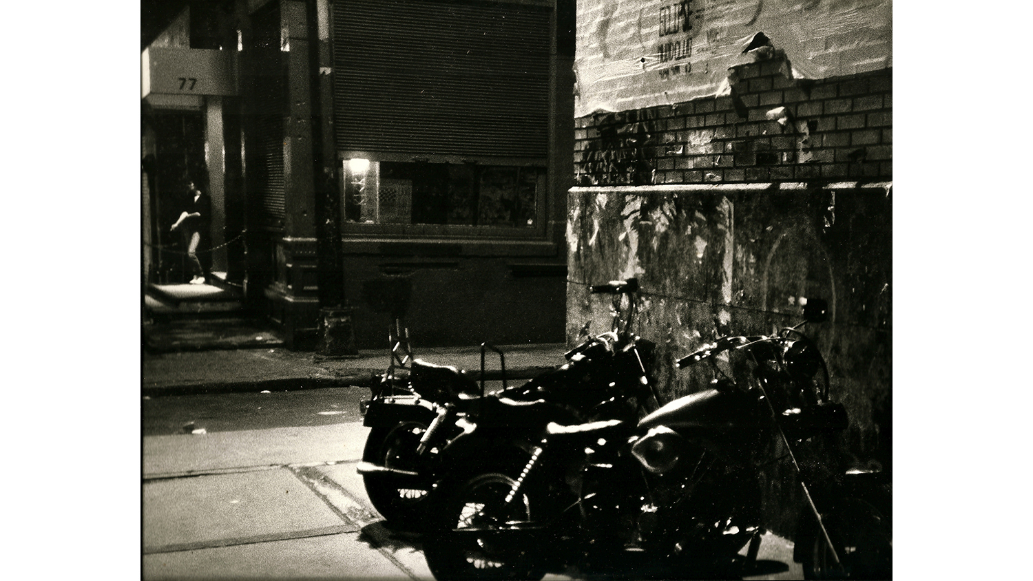 Outside Mudd Club, 1982