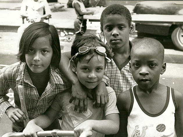 Loisaida kids on East Fifth Street, Circa 1983