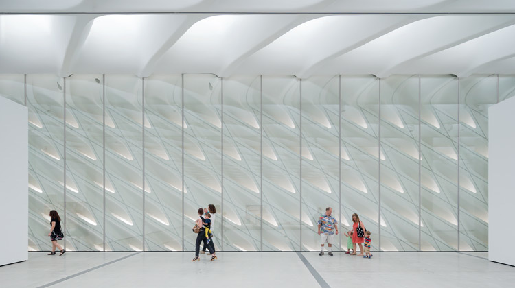 How the Broad's free ticketing system works