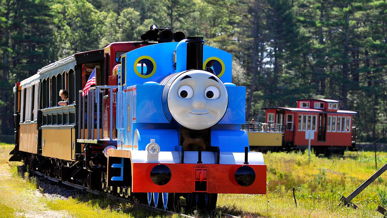 Take a day trip to Thomas Land at Edaville USA