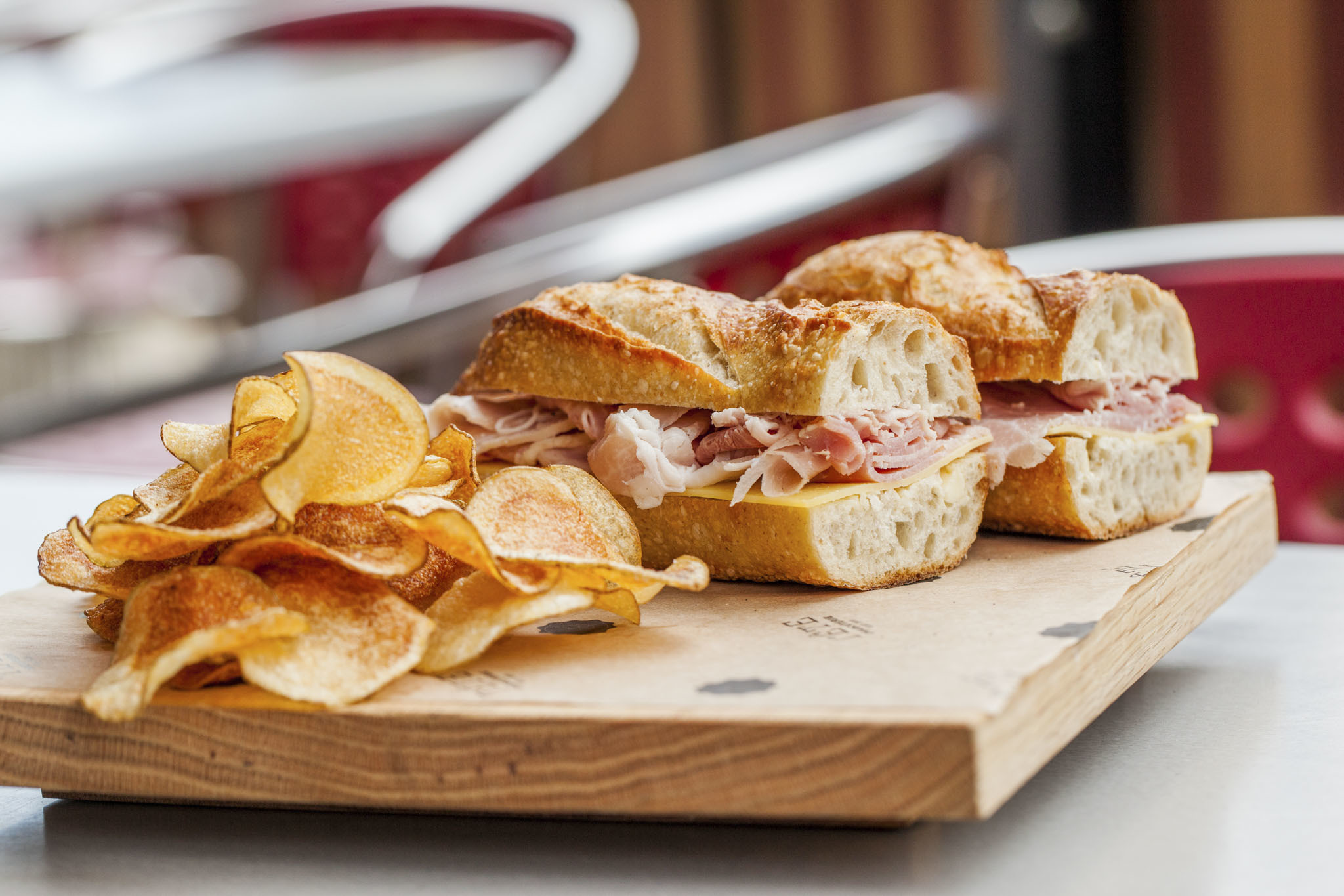 Try the West Loop sandwich crawl