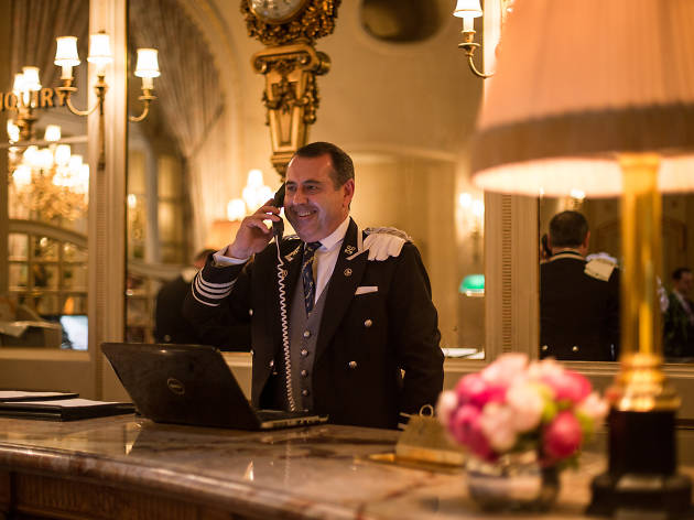 Michael de Cozar, head hall porter at The Ritz