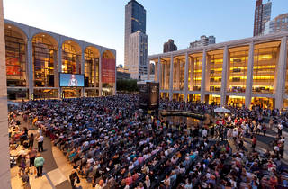 Get cultured with free outdoor operas at Lincoln Center!
