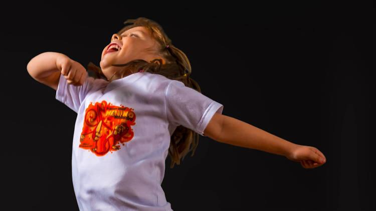 Capoeira para niños en Longe do Mar