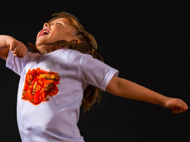 Capoeira para niños