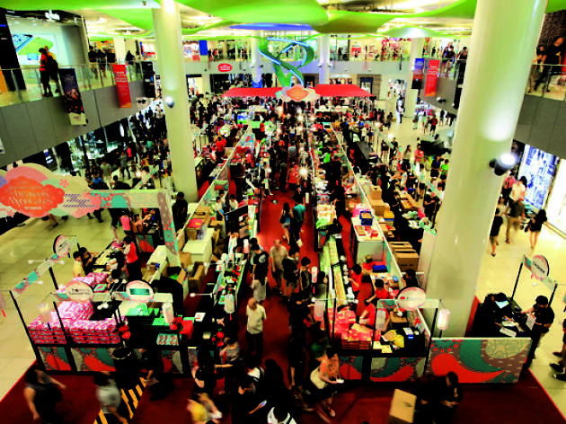 VivoCity & TANGS Mid-Autumn Fair 2015