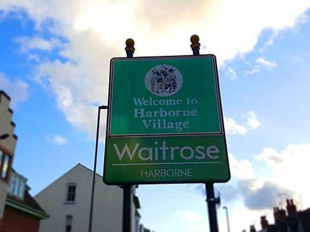 You know you live in Harborne when…