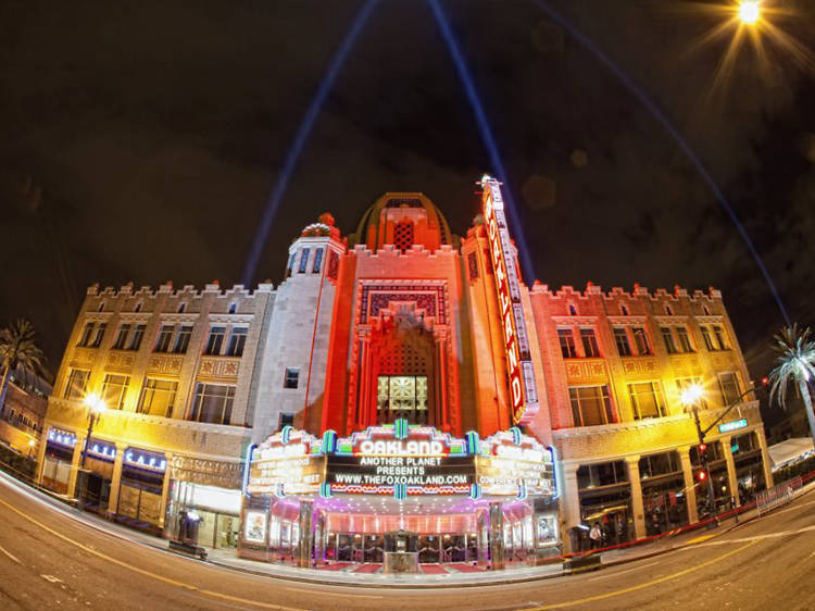 See a show at The Fox and the Paramount Theatre