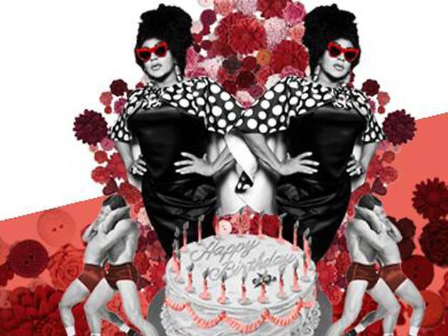 Juanita MORE!'s Birthday at Polyglamorous