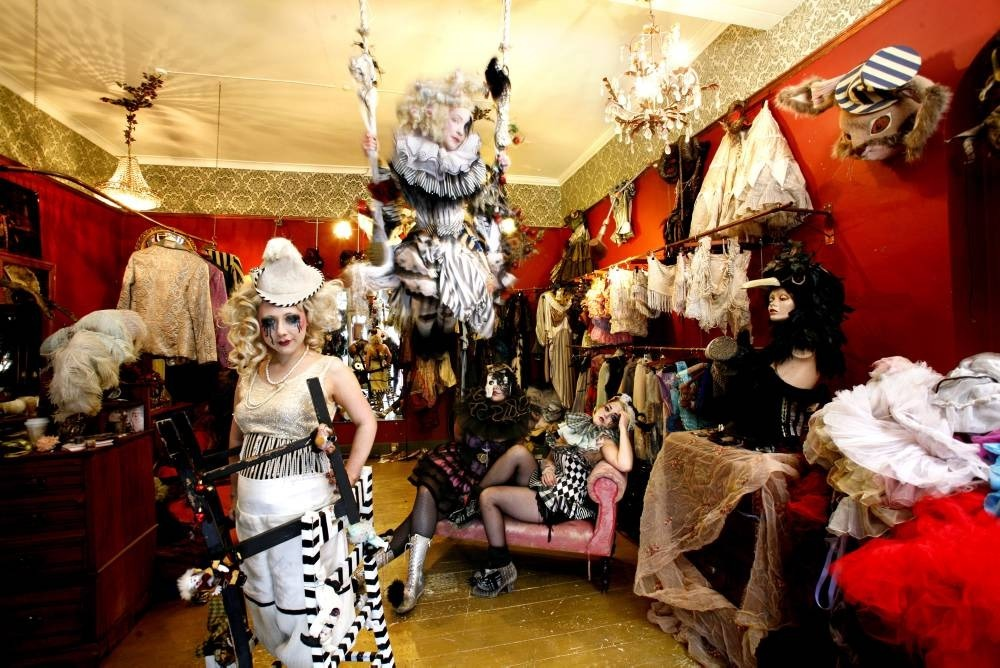 Fancy dress shops