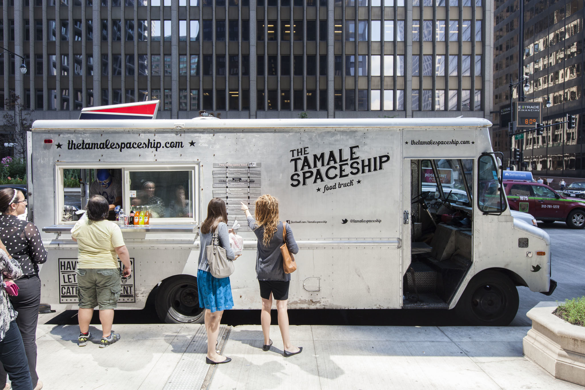 Tamale Spaceship Food Truck