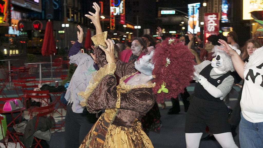 Thrill the World NYC Zombie Masquerade Ball