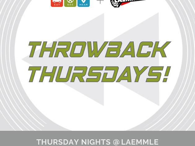 Throwback Thursdays at Laemmle