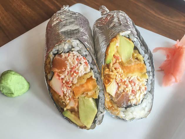 Sushi Burrito Restaurant Near Me