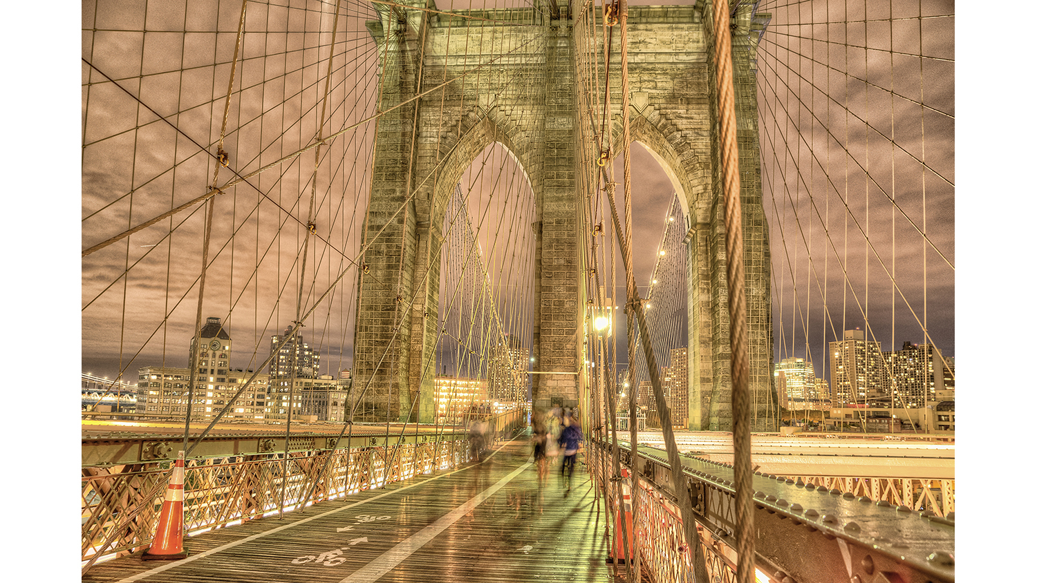 Brooklyn Bridge Towards Brooklyn