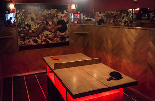 Mini pong bar à cocktails tennis de table ping pong