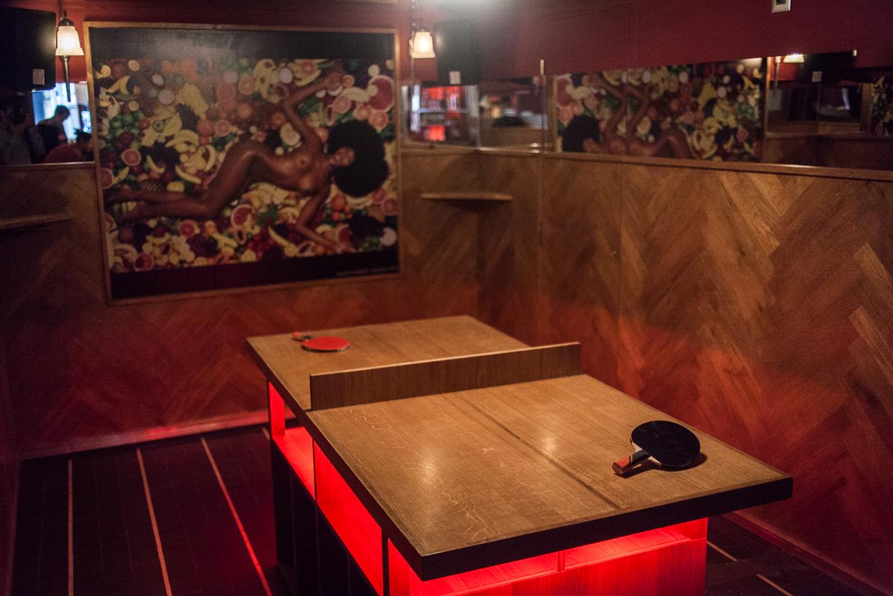 Mixologie et ping-pong  • Le Mini Pong