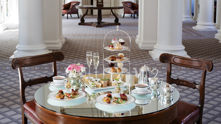 Afternoon Tea at Colonnades