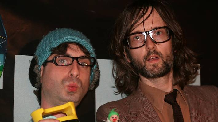 Jarvis Cocker and Carl Hill at Feeling Gloomy