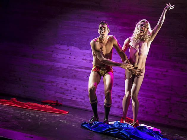 Boys' Night: An All-Male Cirquelesque Revue: Jason Mejias and Mr. Gorgeous