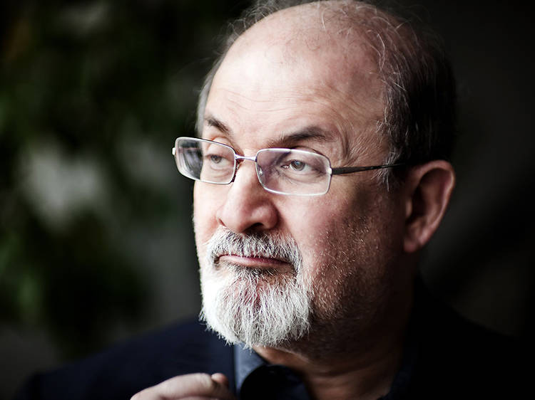 Paul Holdengräber and Salman Rushdie in Conversation (5pm)
