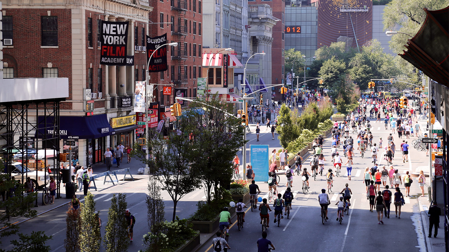 August 8, Summer Streets