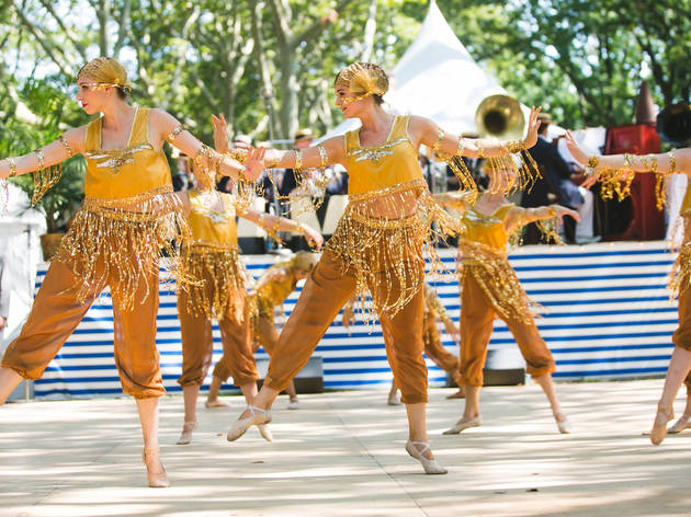 August 15-16, Jazz Age Lawn Festival on Governor's Island