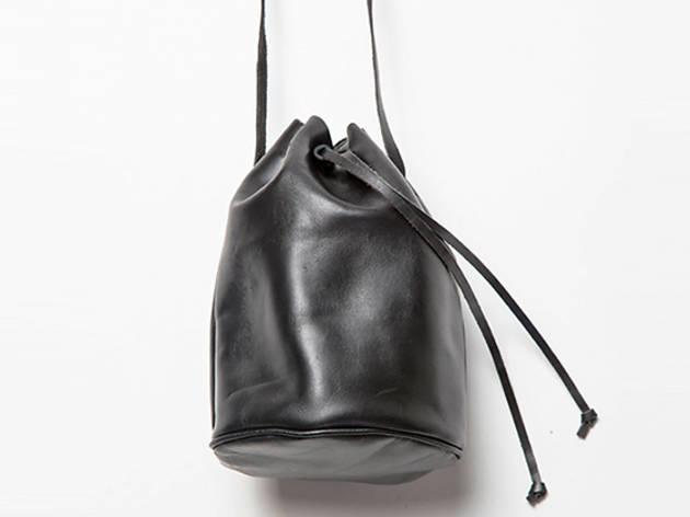 Brandy Melville faux-leather cross-body bucket bag, $35, at brandymelville.com