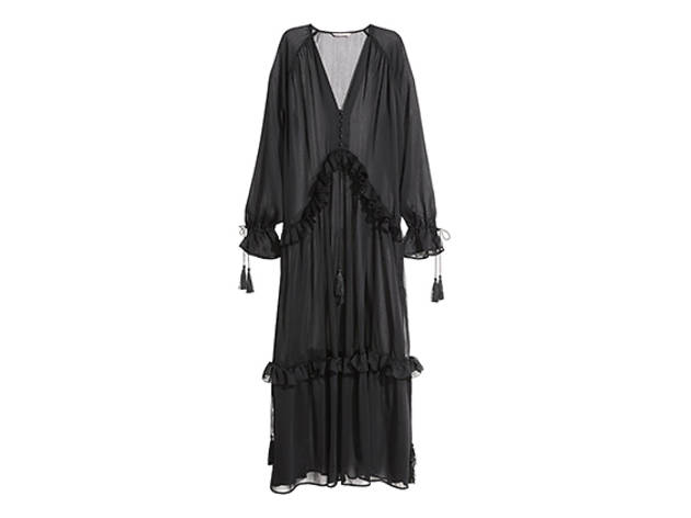 H&M chiffon maxi dress, $70, at hm.com