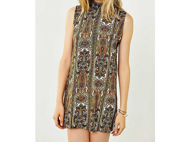 Motel Holly mock neck dress, $49, at urbanoutfitters.com