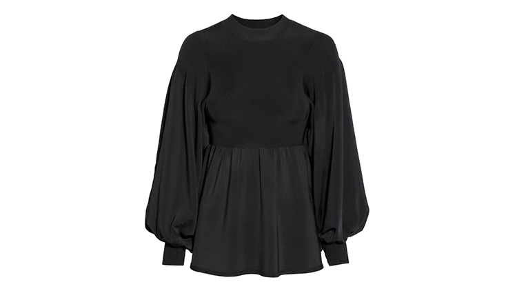 H&M sweater with balloon sleeves, $60, at hm.com