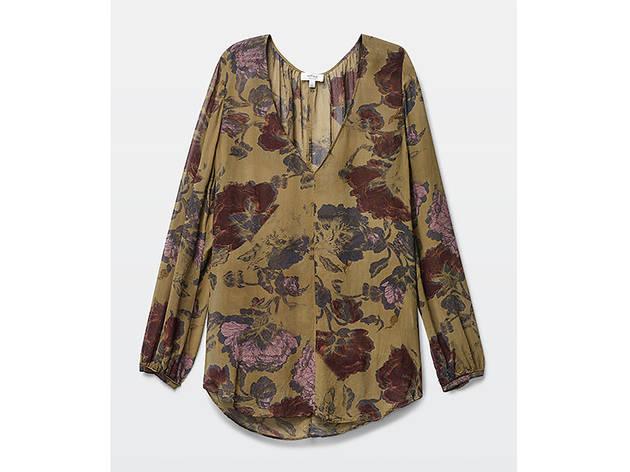 Wilfred-Dauzat blouse, $145, at us.aritzia.com