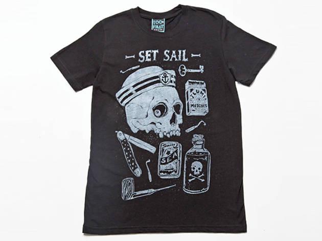 Too Fast Set Sail men's tee, $25, at gritnglory.com