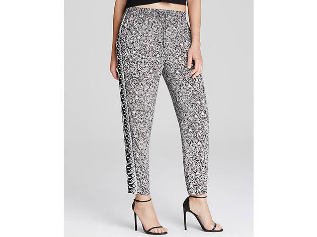 French Connection Bail Batik drawstring pants, $98, at bloomingdales.com