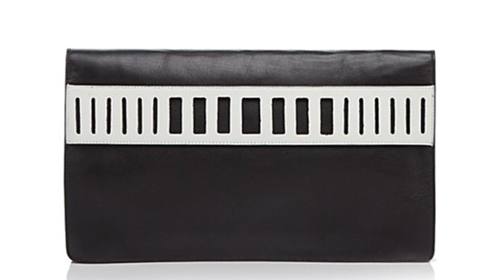 Vince cutout clutch, $295, at bloomingdales.com