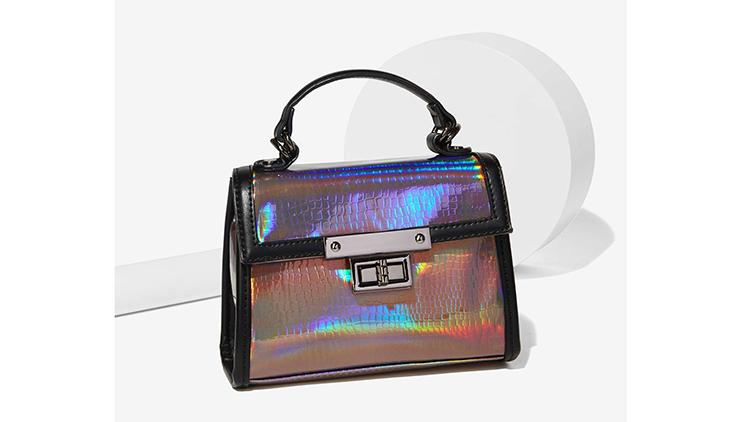 Nasty Gal x Nila Anthony Hologram At Me bag, $48, at nastygal.com
