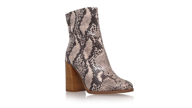 Taupe Combination high heels by Kurt Geiger, $320, at topshop.com