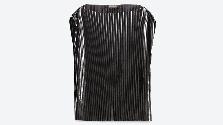Zara top, $40, at zara.com