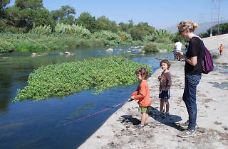 Off Tha' Hook Catch & Release Fishing on the LA River