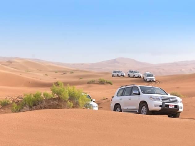 砂漠サファリツアー