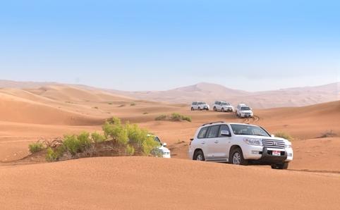 2. 砂漠へはツアーで行く
