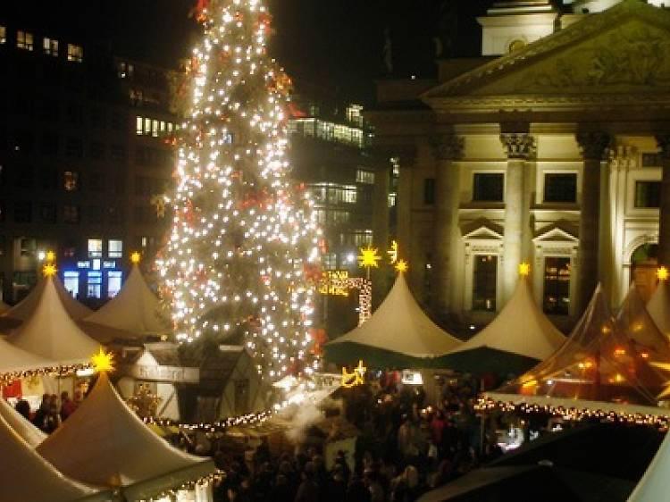ヨーロッパのクリスマスマーケット