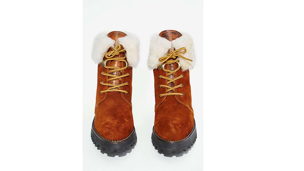Nasty Gal Sabrina Tach Toronto suede boots, $265, at nastygal.com
