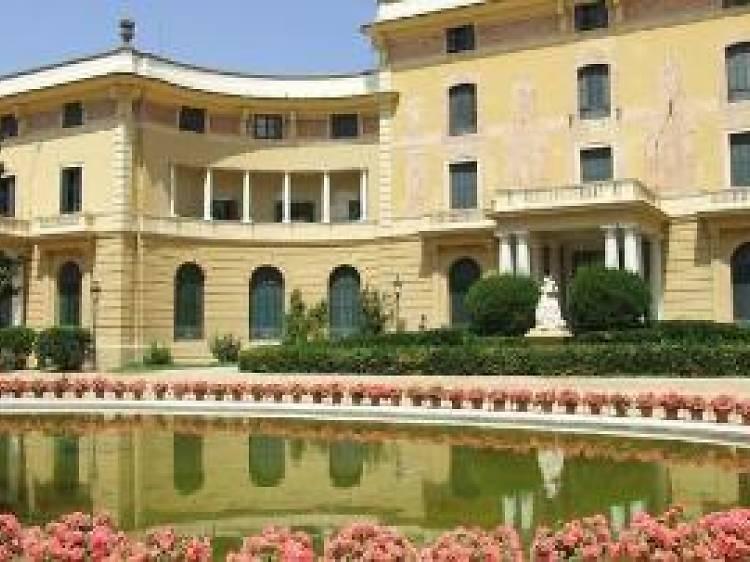 Jardines del Palau de Pedralbes
