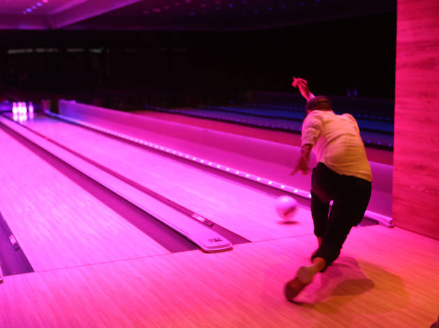 Bowling at Basement