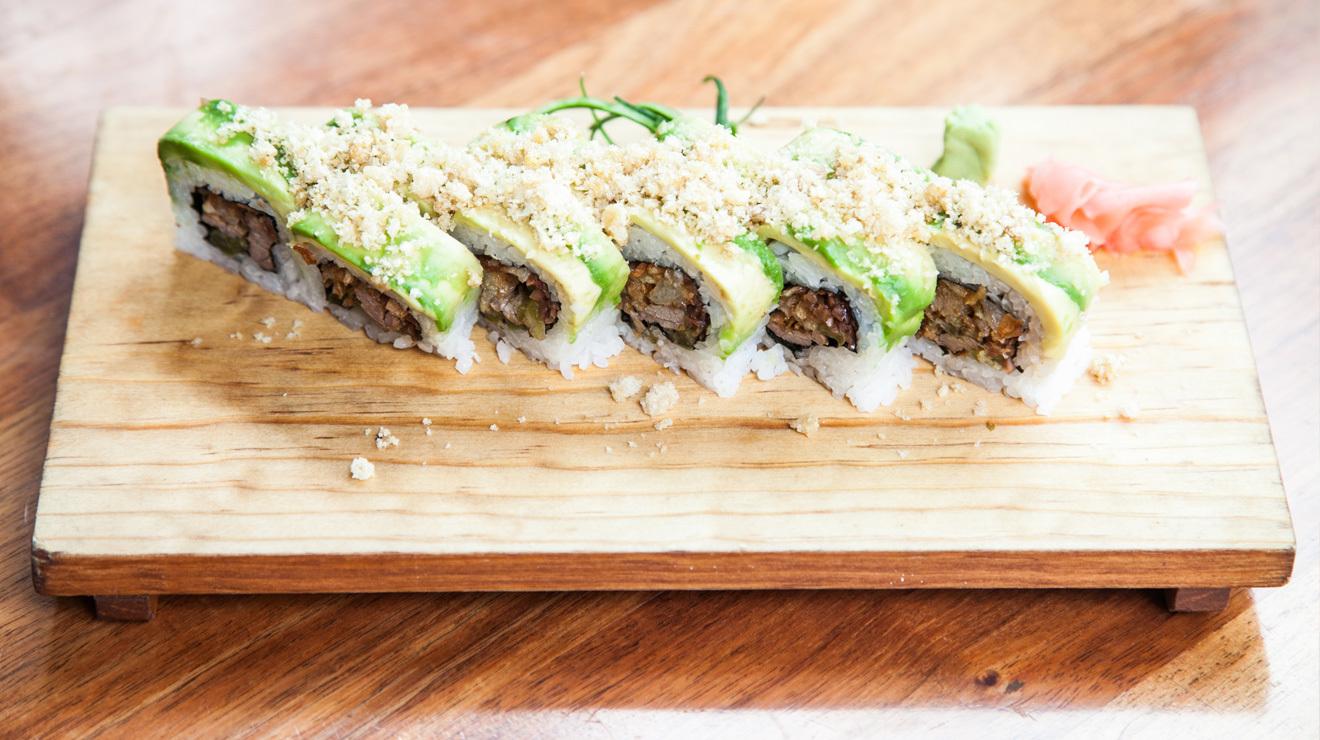 Sushi hecho en México