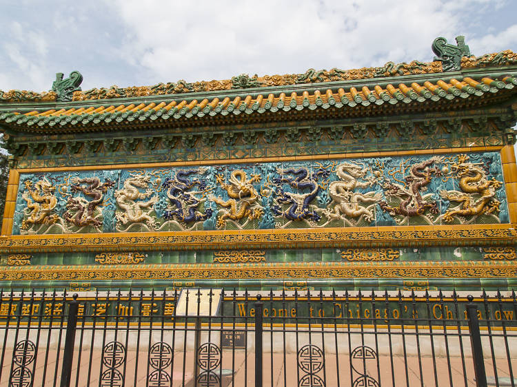 Chinatown Dragon Wall
