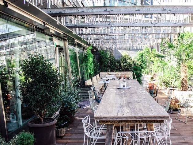 Hiltl Roof Terrace At Pkz Women Restaurants In City Zurich