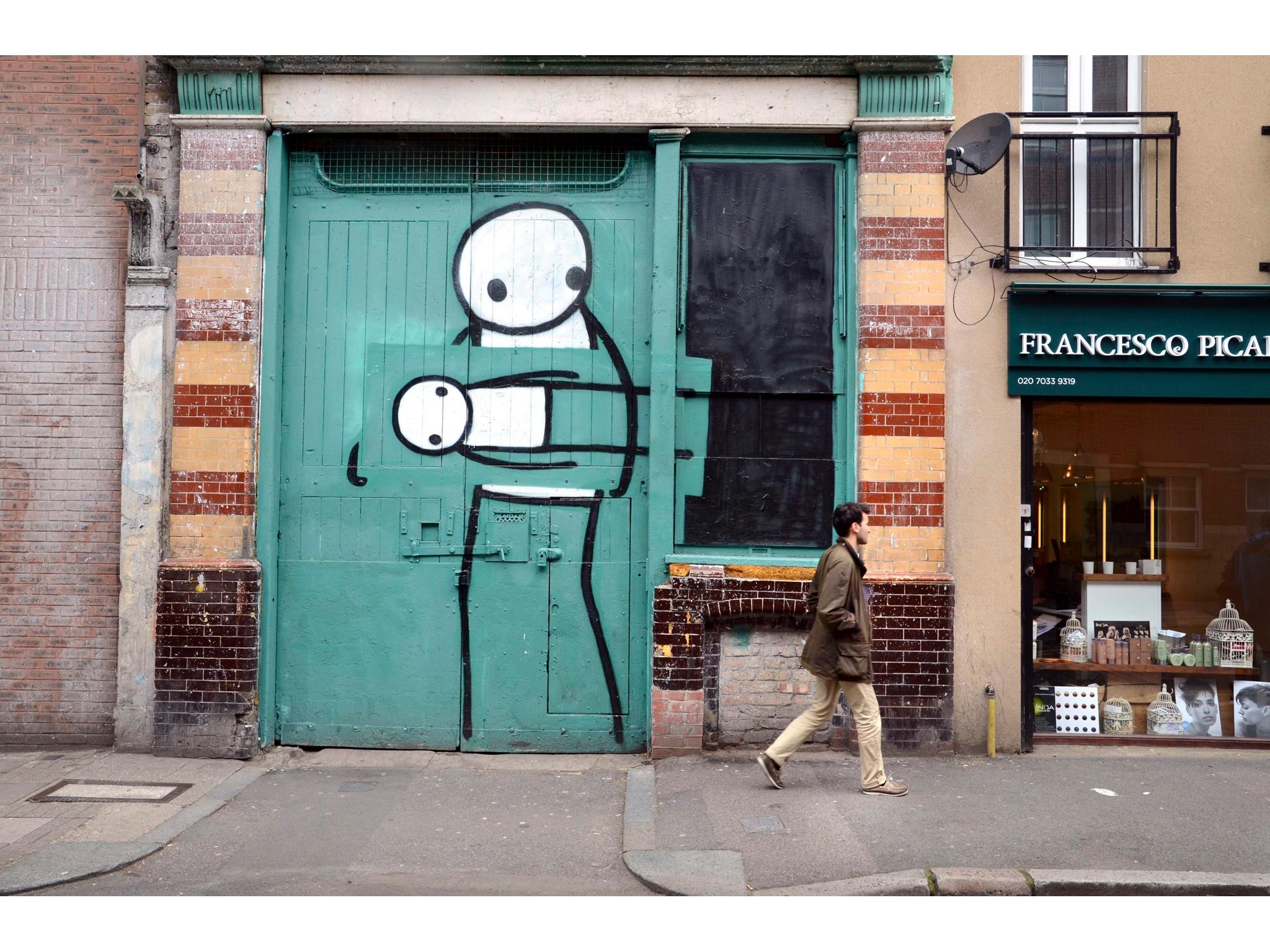 Stik, Pitfield Street, Hoxton